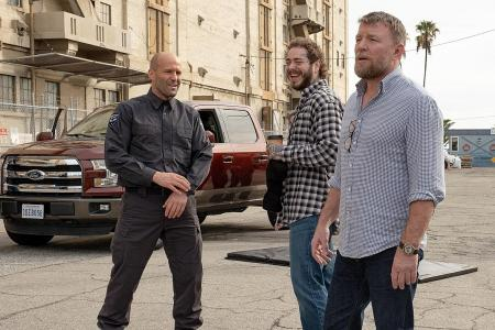 Statham took 30 seconds to agree to star in Guy Ritchie's Wrath Of Man