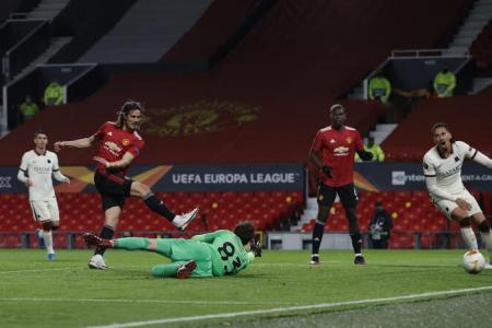 Manchester United hit Roma for six to put one foot in Europa League final