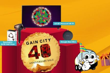 New homeowners group buy sale back at Gain City