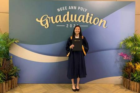 Mother, businesswoman, and now Ngee Ann's star graduate: Learning not limited by age