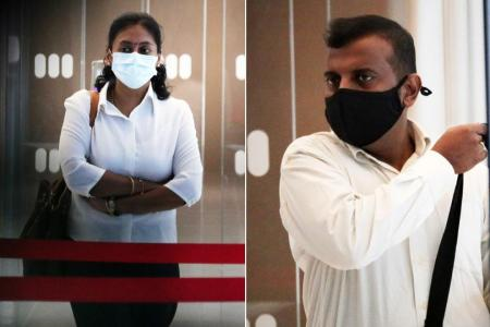 Teacher, hubby on trial for alleged maid abuse