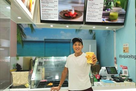 Business owner knows when the juice is worth the squeeze