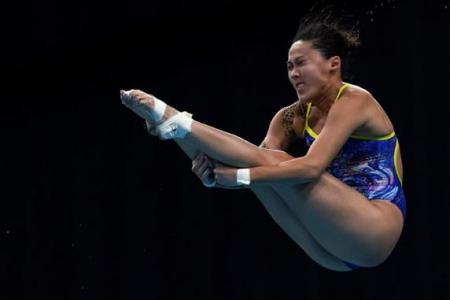 Freida Lim dives straight into exams after Fina World Cup s-final run
