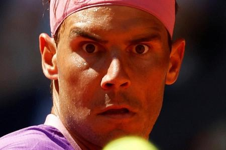 Nadal reaches quarters, Barty makes final in Madrid