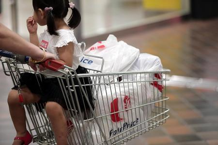 Charging for bags at supermarkets likely to start next year: Amy Khor