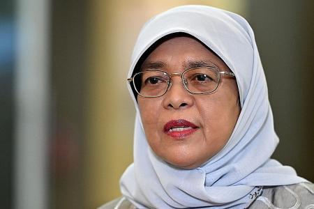 Curbs during Hari Raya disappointing but necessary: President Halimah