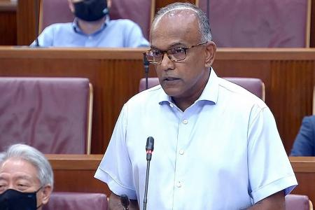 Racism will become normalised if Singapore isn't careful: Shanmugam