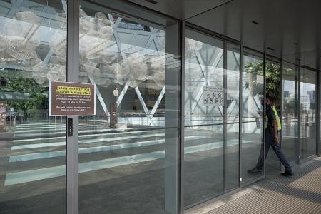 Changi Airport turns quiet on first day of restricted access
