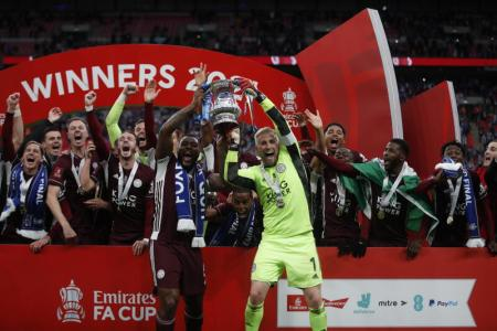 Rodgers hails Leicester's historic FA Cup victory