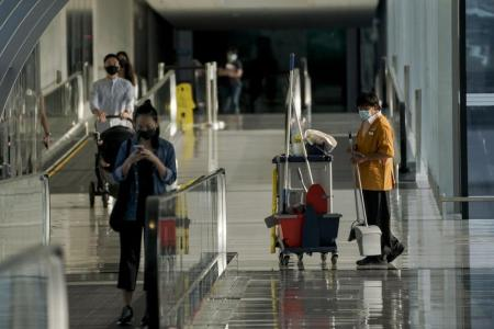 Speed at which airport cluster grew is worrying: Prof Teo