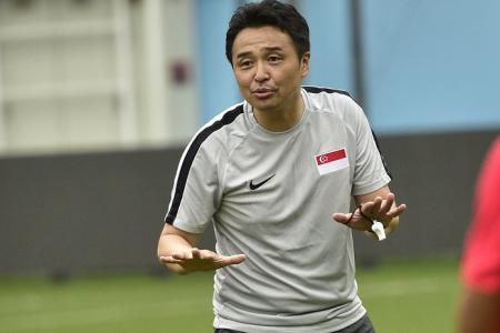 Coach Tatsuma Yoshida eyes 4 points from Lions' 3 World Cup qualifiers