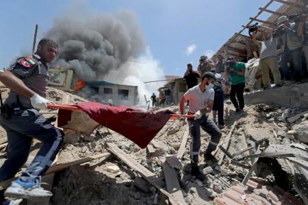 Israeli air strikes continue as fighting enters second week