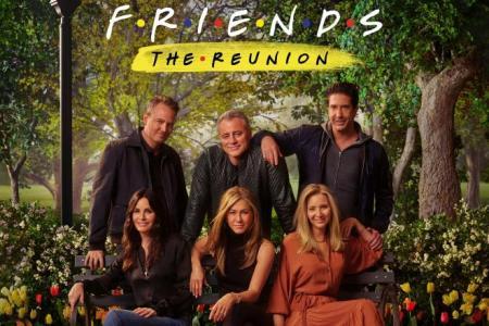 Friends TV reunion 'like a family'