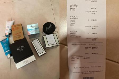 Mum, 60, goes to mall to get cash but ends up being sold $2,400 of beauty products