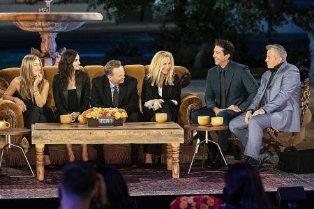 TV review: Friends: The Reunion