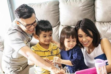 Parents using PA School Holiday Series to engage children