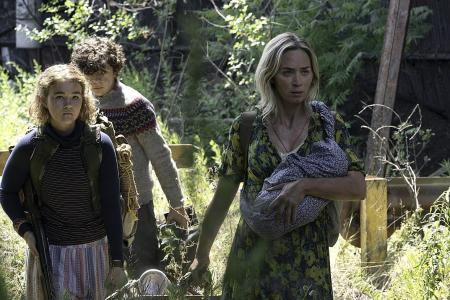 A Quiet Place sequel makes US box-office noise with $75m opening
