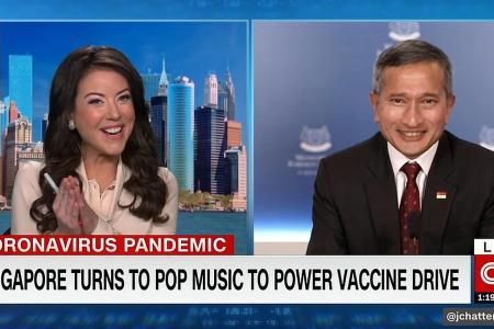 Singapore Covid-19 vaccine video makes it on CNN? Steady pom pi pi