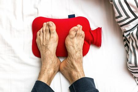 Getting cold feet? It could be an early sign of heart disease