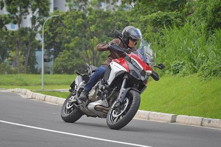 Ducati Multistrada V4 S ready to go the distance