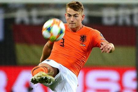 Holland sweating over Matthijs de Ligt's injury
