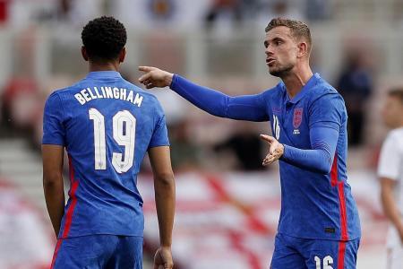 Jordan Henderson plays first match since February as an England sub