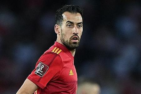 Spain hit by captain Sergio Busquets' Covid-19 diagnosis