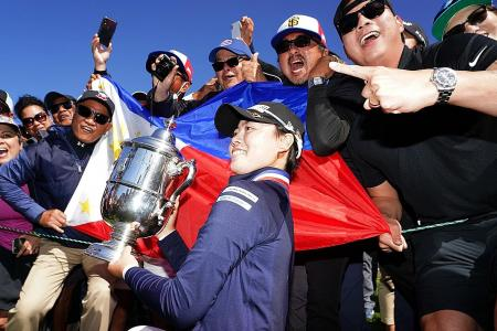 Philippine teen Yuka Saso wins 1st Major, thanks to Rory McIlroy