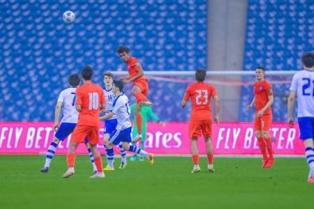 World Cup qualifiers: Lions beaten 5-0 by Uzbekistan