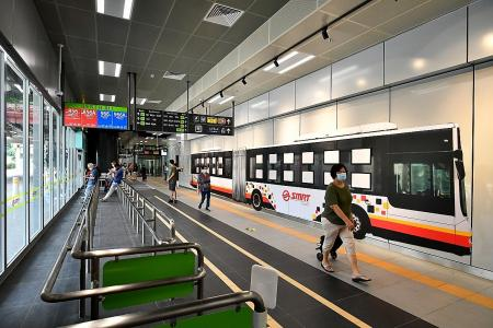 Largest integrated transport hub opens in Woodlands