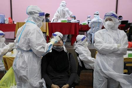 Curbs may be eased if virus cases dip below 4,000: Malaysian Minister