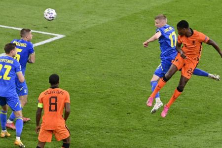 Euro 2020: Denzel Dumfries rescues Netherlands with late winner