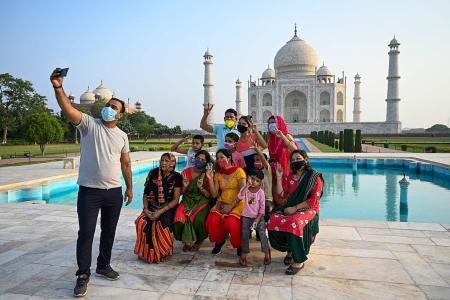 Taj Mahal, other tourist sites reopen in India despite Covid fears