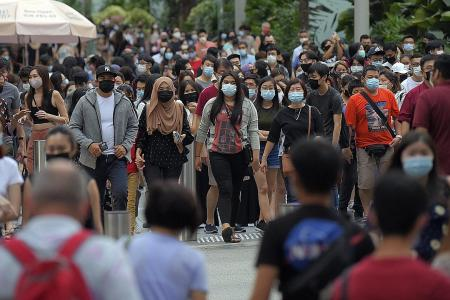 Singapore sees slowest population growth since 1965