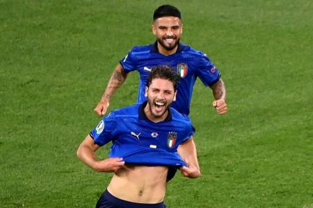 Euro 2020: Italy book last-16 spot with another 3-0 win