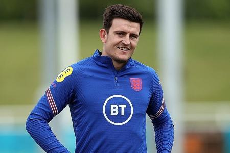 Euro 2020: Harry Maguire declares himself fit for Scotland showdown