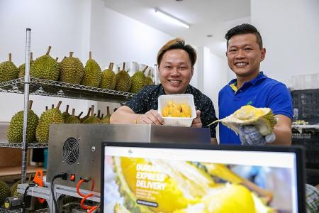 Thorny road to success for online durian sellers