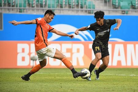 AFC Champions League: Tampines Rovers left to rue late sucker punch