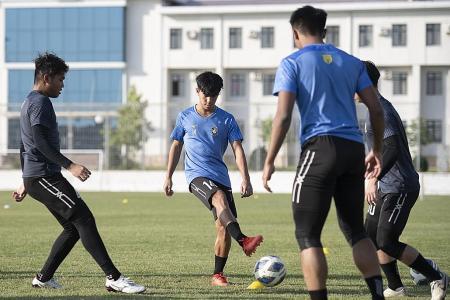 Tampines Rovers' teenage forward Marc Tan relishing top-tier exposure