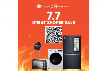 Shop till you drop at these 7.7 sales