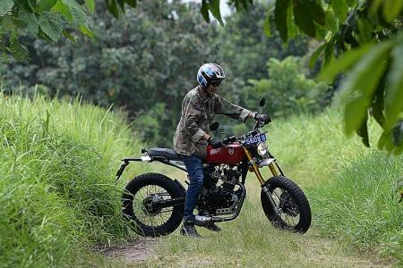 Mutt's Razorback 125 is a budget ride with lots of old-school charm