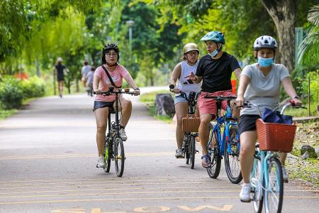 Ride on cycling boom to push for a car-lite society: Experts