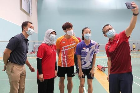 Measures in place to keep Team Singapore safe at Tokyo Olympics