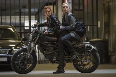 Florence Pugh suits up to take on Black Widow