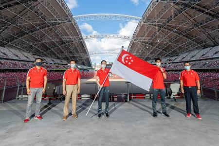 Extra measures for Team Singapore to stay safe at Tokyo Olympics