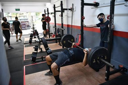 Mask-off gym activities allowed for groups of five from next Monday