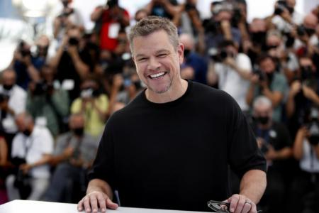 Matt Damon brings roughneck America to Cannes with Stillwater