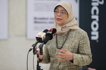 Halimah urges youth not to prejudge, to mix with different communities