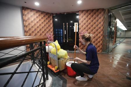 Club Dolce KTV lounge linked to new cluster being deep cleaned