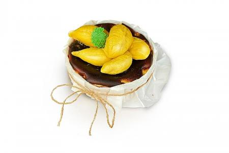 Win Mao Shan Wang burnt cheesecake worth $88 in TNP's Durian Challenge